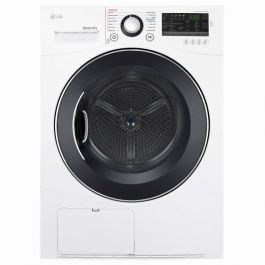 LG DLEC888W Compact Electric Condensing Front Load Dryer