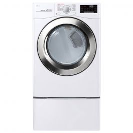 LG DLEX3700W Ultra Large Capacity Steam Dryer with Wi-Fi