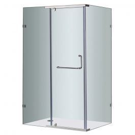 "48"" Semiframeless Shower Enclosure"