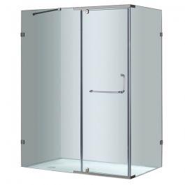 "60"" Semiframeless Shower Enclosure"
