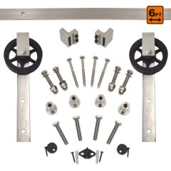 Barn Door Hardware 5000 Series Kit (6 ft) - SN