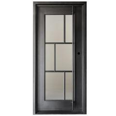 Modelo Wrought Iron Entry Door Left Swing 3068