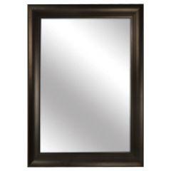 """Black Framed Mirror 28"""" x 40"""""""