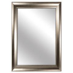 """Silver Framed Mirror 30"""" x 42"""""""