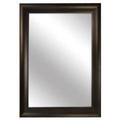 """Espresso Framed Mirror 30"""" x 42"""""""