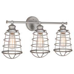 Ajax 3-Light Vanity Light - Satin Nickel