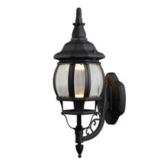 Canterbury II LED Outdoor Wall Light - Black