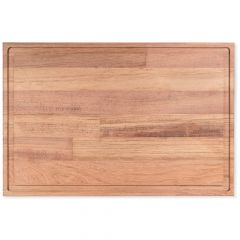 "Butcher Block 12"" x 18"" Cutting Board - Brazilian Cherry"
