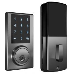 ZW300 Z-Wave Touchscreen Smart Deadbolt - Satin Nickel