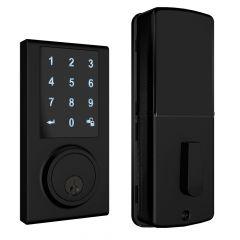 ZW300 Z-Wave Touchscreen Smart Deadbolt - Black