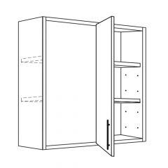 """Blind Corner Wall 36""""/39"""" x 30"""" Avalon White Kitchen Cabinet"""