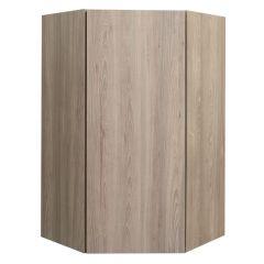"Diagonal Wall 24"" x 42"" Madison Ash Kitchen Cabinet"