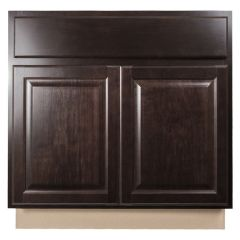 "Sink Base 33"" Classic Onyx Kitchen Cabinet"