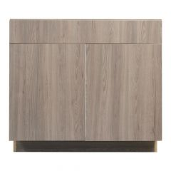 "Sink Base 36"" Madison Ash Kitchen Cabinet"