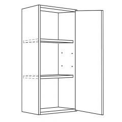 "Wall Cabinet 9"" x 30"" Avalon White Kitchen Cabinet"