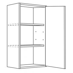 """Wall Cabinet 21"""" x 30"""" Broadway Luster Kitchen Cabinet"""