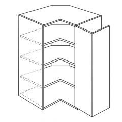 """Easy Reach Wall Cabinet 24"""" x 42"""" Broadway Luster Kitchen Cabinet"""