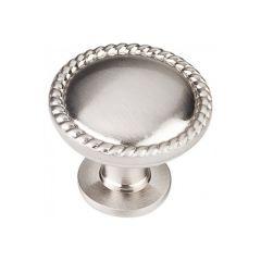 #121 Round Cabinet Knob - Satin Nickel