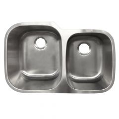 Undermount Stainless Steel 60/40 Sink
