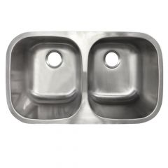 Undermount Stainless Steel 50/50 Sink