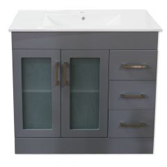 "Special Buy 700 Series 36"" Gray Vanity"