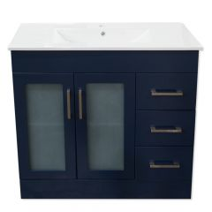 "Special Buy 700 Series 36"" Navy Vanity"