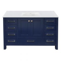 "Carina 48"" Navy Vanity - Choose Your Top"