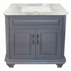 "Konnor 36"" Gray Vanity"