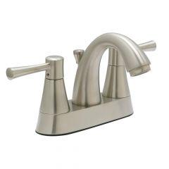 Huntington Brass Carmel Centerset Lavatory Faucet - Satin Nickel