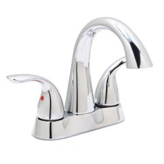 Huntington Brass Clover Centerset Lavatory Faucet - Polished Chrome