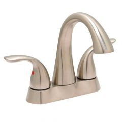 Huntington Brass Clover Centerset Lavatory Faucet - Satin Nickel