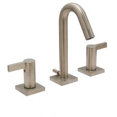 Emory Widespread Lavatory Faucet - Satin Nickel