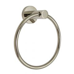 Euro Towel Ring - Polished Nickel