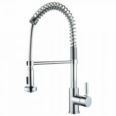YP2814A Single Handle Pullout Kitchen Faucet - Polished Chrome