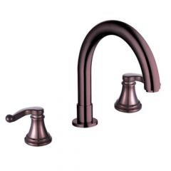 YP28RT Two Handle Widespread Tub Faucet - Oil Rubbed Bronze