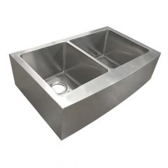 ZS-FH04 Farmhouse 50/50 Undermount Stainless Steel Sink