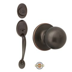 Design House Conventry Entry Handleset w/Ball Knob - Oil Rubbed Bronze