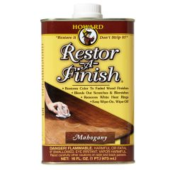 Howard Restor-a-Finish - Mahogany - 16oz.