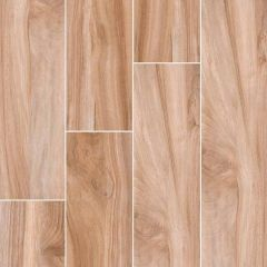 "Aspenwood Amber 9"" x 48"" Wood Look Porcelain Tile"