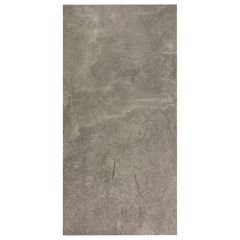 "Cementi Gray 18"" x 36"" Oversized Porcelain Tile"