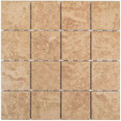 "Beach Sand 3"" x 3"" Square Mosaic Tile"