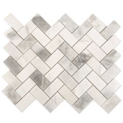 "CWM503P Polished Marble Mosaic Wall Tile 10"" x 12"""
