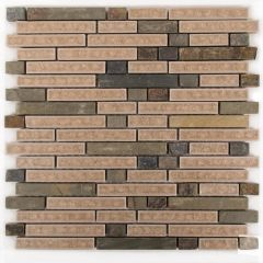 Majestic Blend Linear Mosaic Tile