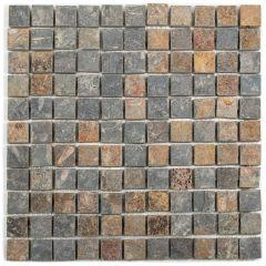 Slate Mosaic Stone Square Mosaic Tile