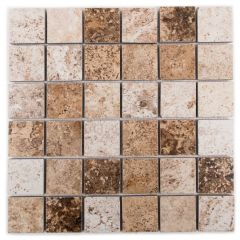 "UF62 Mixed 12"" x 12"" Mosaic Tile"