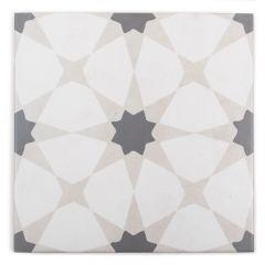 "Zoudia Encaustic 8"" x 8"" Mosaic Tile"
