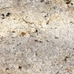 "Colonial Cream 110"" Prefabricated Granite Kitchen Countertop"