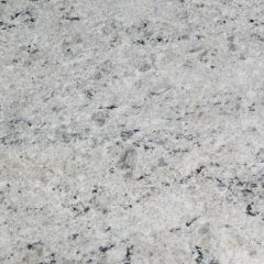"Colonial White 110"" Prefabricated Granite Kitchen Countertop"