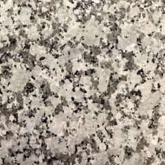 "Pauline Gray 110"" Prefabricated Granite Kitchen Countertop"