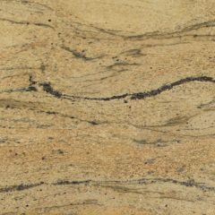 "Prada Gold 110"" Prefabricated Granite Kitchen Countertop"